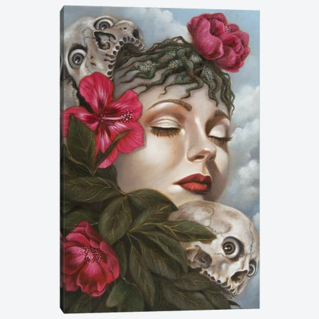 Memory Canvas Print #CSE12} by Carla Secco Canvas Art