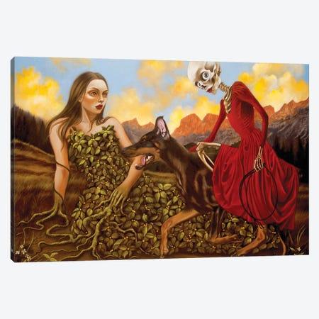 The Mother Canvas Print #CSE17} by Carla Secco Canvas Art Print