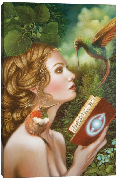 The Portal Canvas Art Print