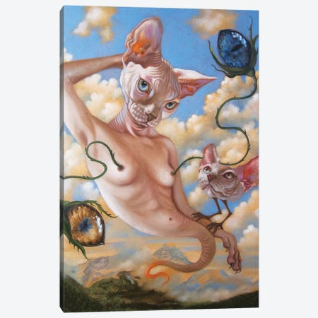 The Quiet Canvas Print #CSE19} by Carla Secco Canvas Art