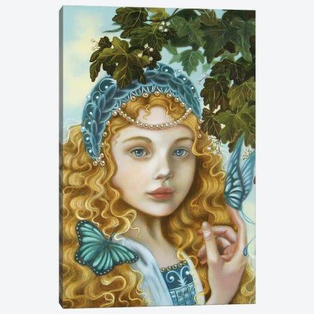 Azzurra Canvas Print #CSE1} by Carla Secco Art Print