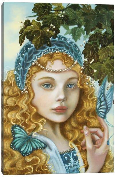Azzurra Canvas Art Print