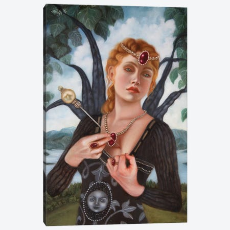 Like A Jewel Canvas Print #CSE21} by Carla Secco Canvas Print