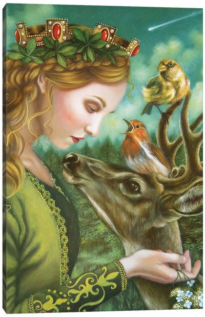 Catherine Canvas Art Print