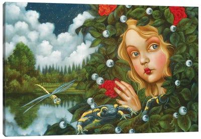 Complicit Night Canvas Art Print