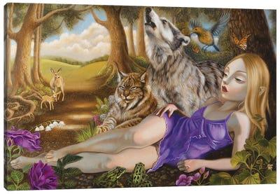 For Rest Canvas Art Print