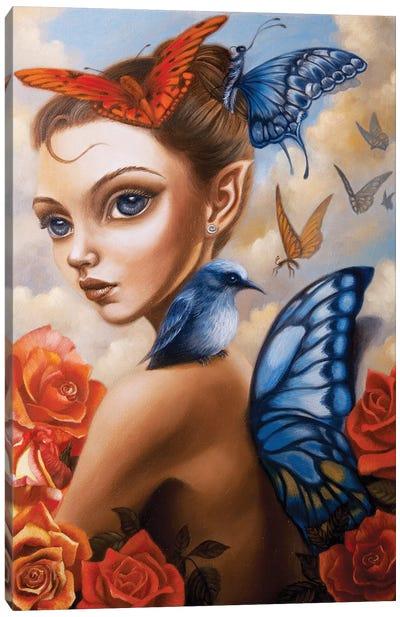 Il Vento Intorno Canvas Art Print