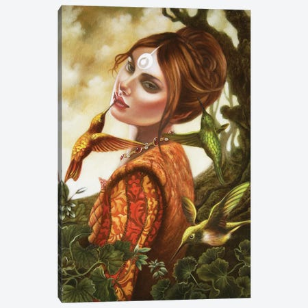 Isabella 3-Piece Canvas #CSE8} by Carla Secco Art Print