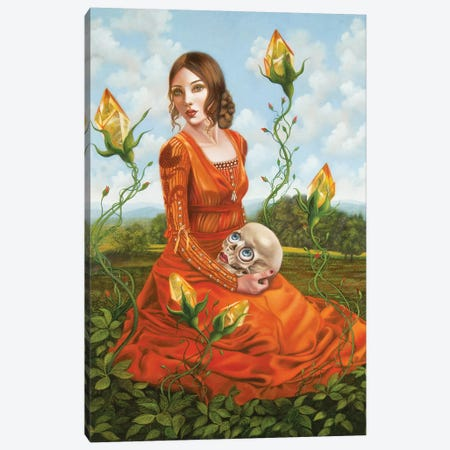 L'Aura Canvas Print #CSE9} by Carla Secco Art Print