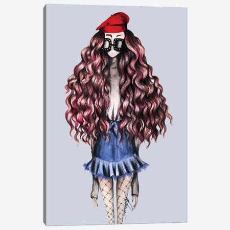 French Curls Canvas Print #CSI17} by Maria Camussi Canvas Art Print