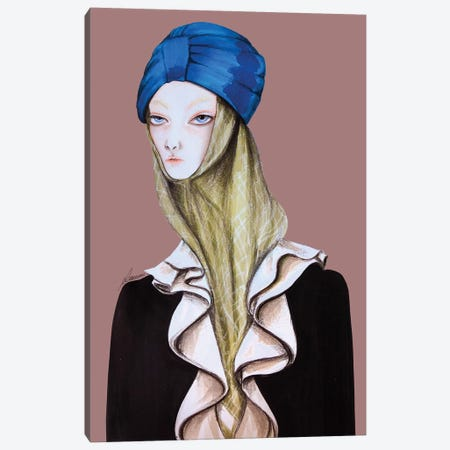 Gucci Beauty Canvas Print #CSI21} by Maria Camussi Canvas Print