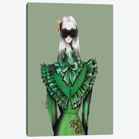 Gucci Warrior Canvas Print #CSI22} by Maria Camussi Canvas Art Print