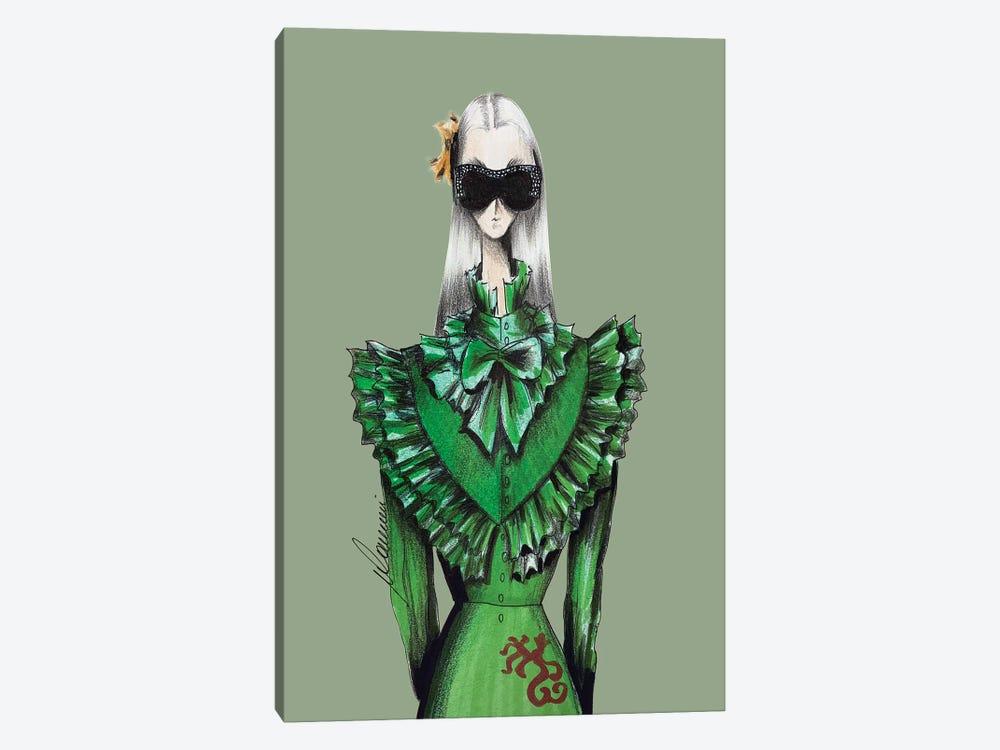 Gucci Warrior by Maria Camussi 1-piece Canvas Print