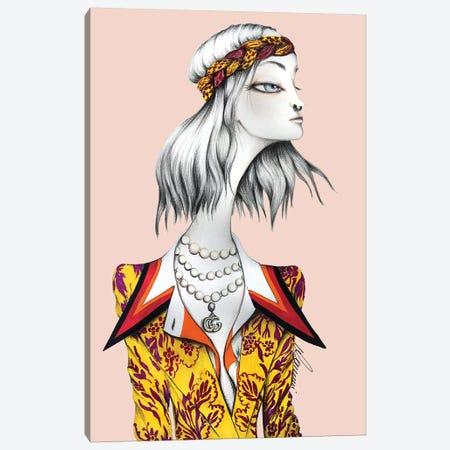 Madame Gucci Canvas Print #CSI29} by Maria Camussi Canvas Art Print