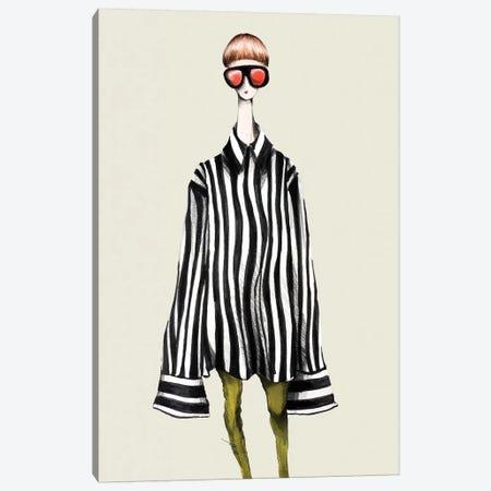 Striped Mood Canvas Print #CSI42} by Maria Camussi Canvas Art Print
