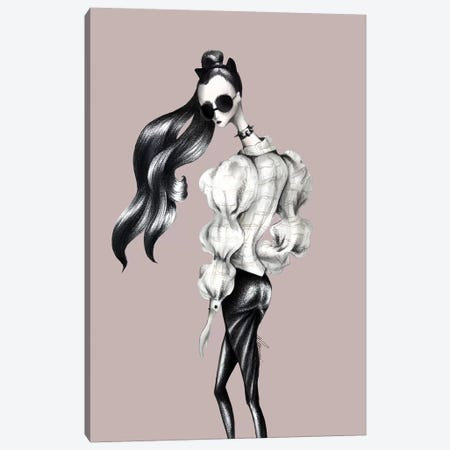 Dark Jacquemus Canvas Print #CSI8} by Maria Camussi Canvas Print