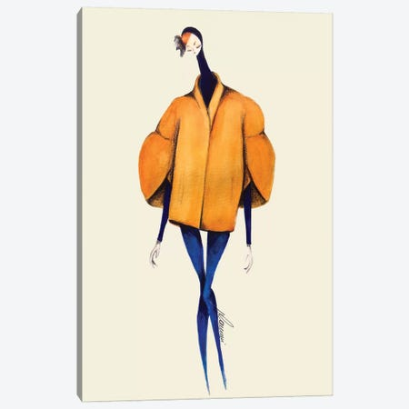 Delpozo Fairy Canvas Print #CSI9} by Maria Camussi Canvas Print