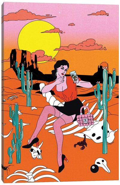 Desert Canvas Art Print