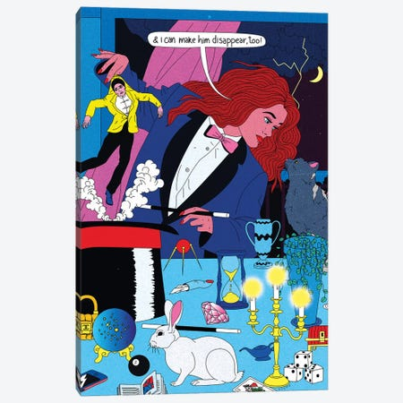 Magician Canvas Print #CSO23} by Cosmo Art Print