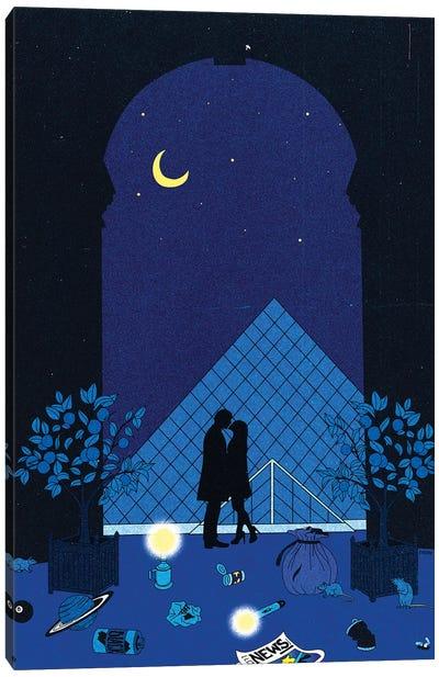 Midnight In Paris Canvas Art Print