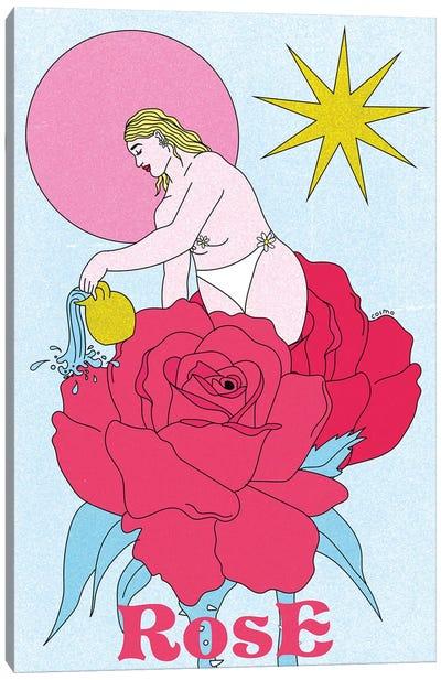 Parfum À La Rose Canvas Art Print