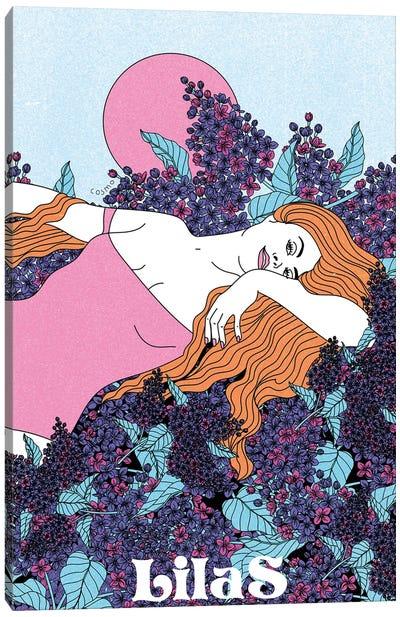 Parfum Lilas Canvas Art Print