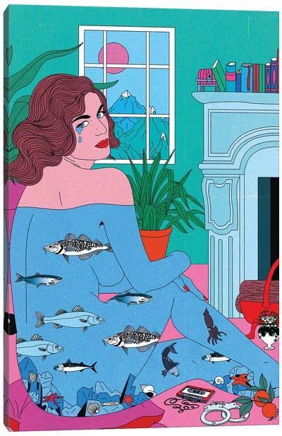 Pisces Tears Canvas Art Print