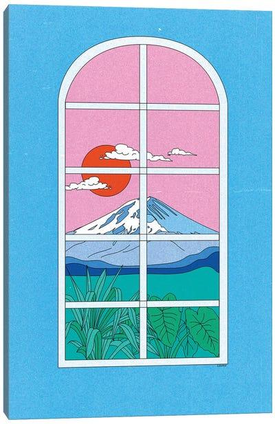 Window Canvas Art Print