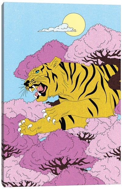 Tiger, Tiger Canvas Art Print