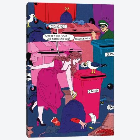 Bins Canvas Print #CSO5} by Cosmo Canvas Artwork