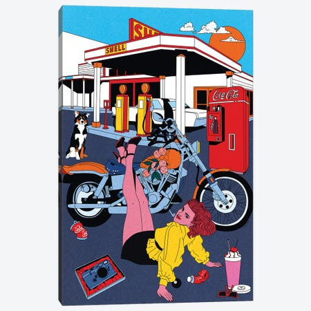 American Dream Canvas Print #CSO60} by Cosmo Canvas Art Print