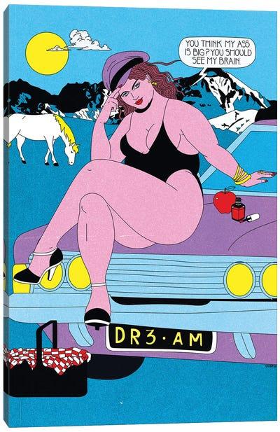 Fat Brain Canvas Art Print