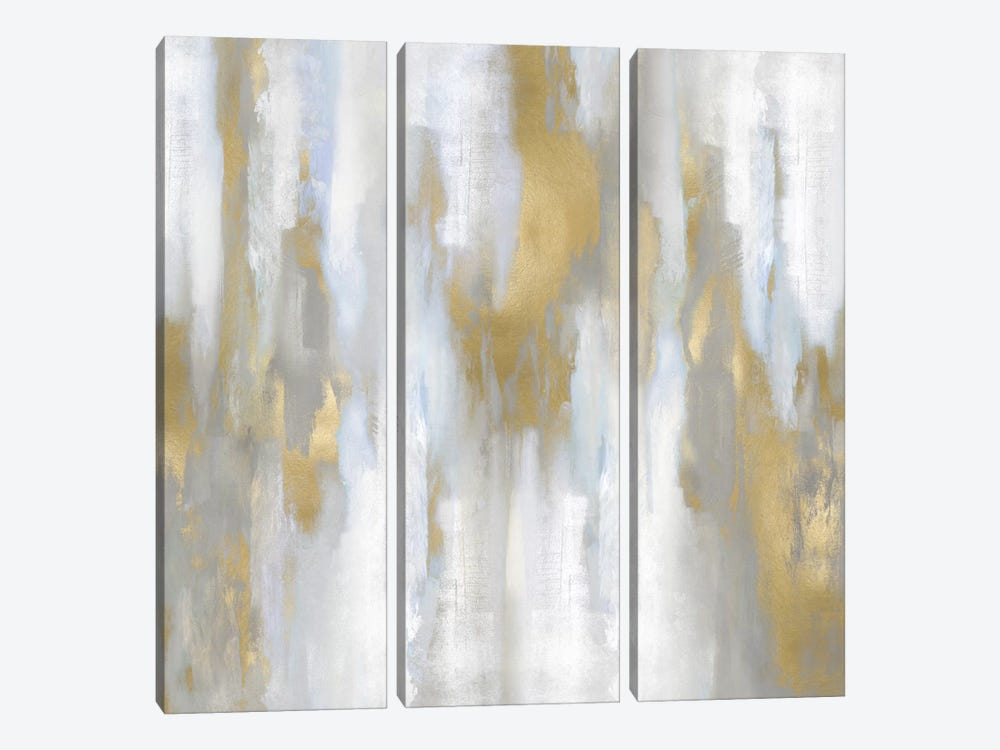 Apex Gold III by Carey Spencer 3-piece Canvas Artwork