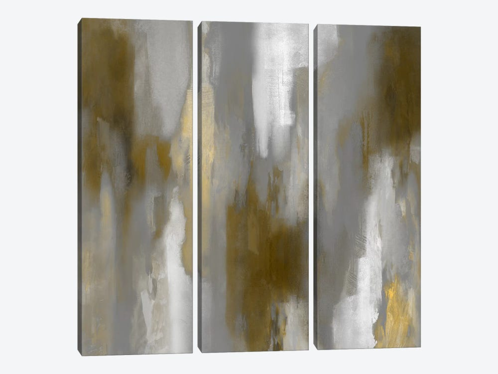 Apex Gold IV by Carey Spencer 3-piece Canvas Print