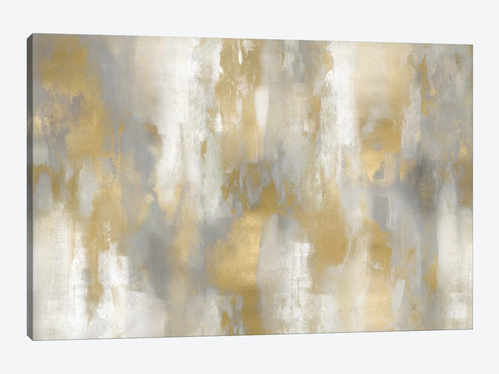 Golden Perspective I by Carey Spencer 1-piece Canvas Artwork