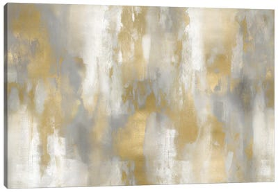 Golden Perspective I Canvas Art Print