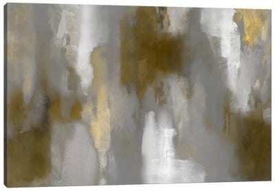 Golden Perspective II Canvas Art Print