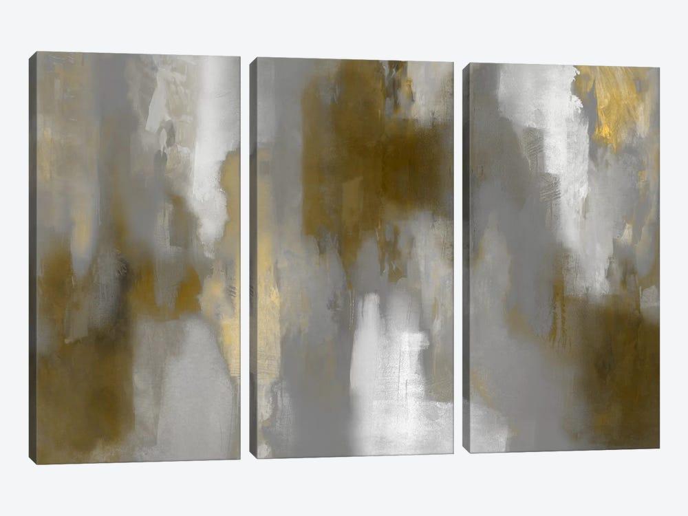 Golden Perspective II by Carey Spencer 3-piece Canvas Art Print