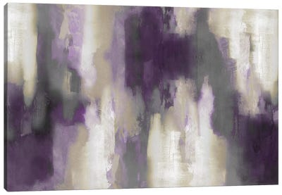 Amethyst Perspective I Canvas Art Print