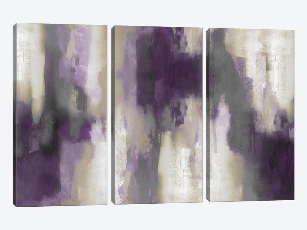 Amethyst Perspective I by Carey Spencer 3-piece Art Print
