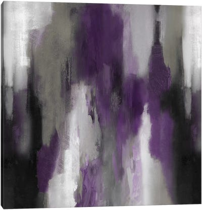 Amethyst Perspective II Canvas Art Print