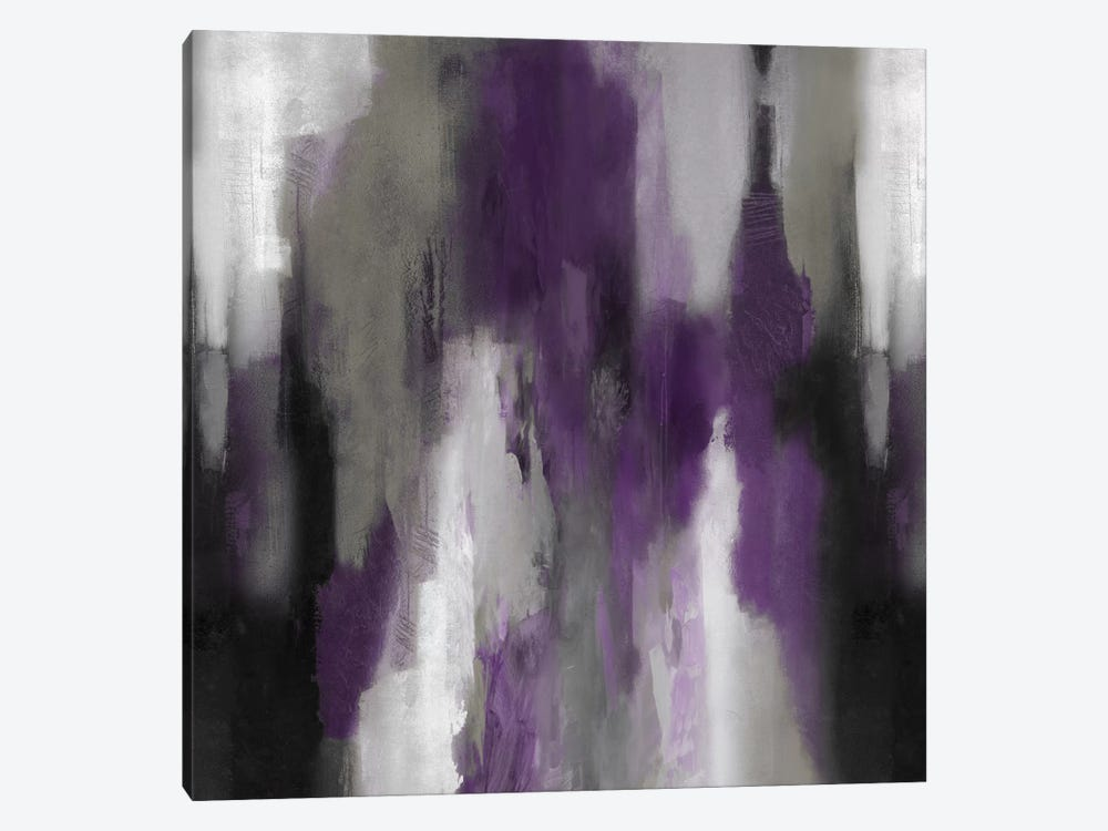 Amethyst Perspective II by Carey Spencer 1-piece Canvas Artwork