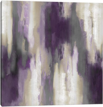 Amethyst Perspective III Canvas Art Print