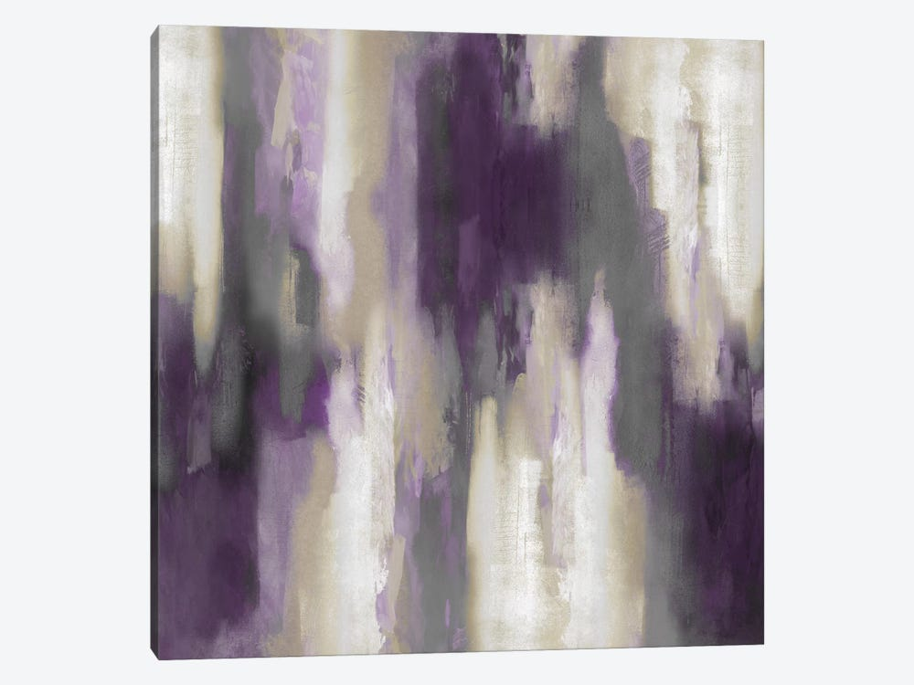 Amethyst Perspective III by Carey Spencer 1-piece Canvas Art Print