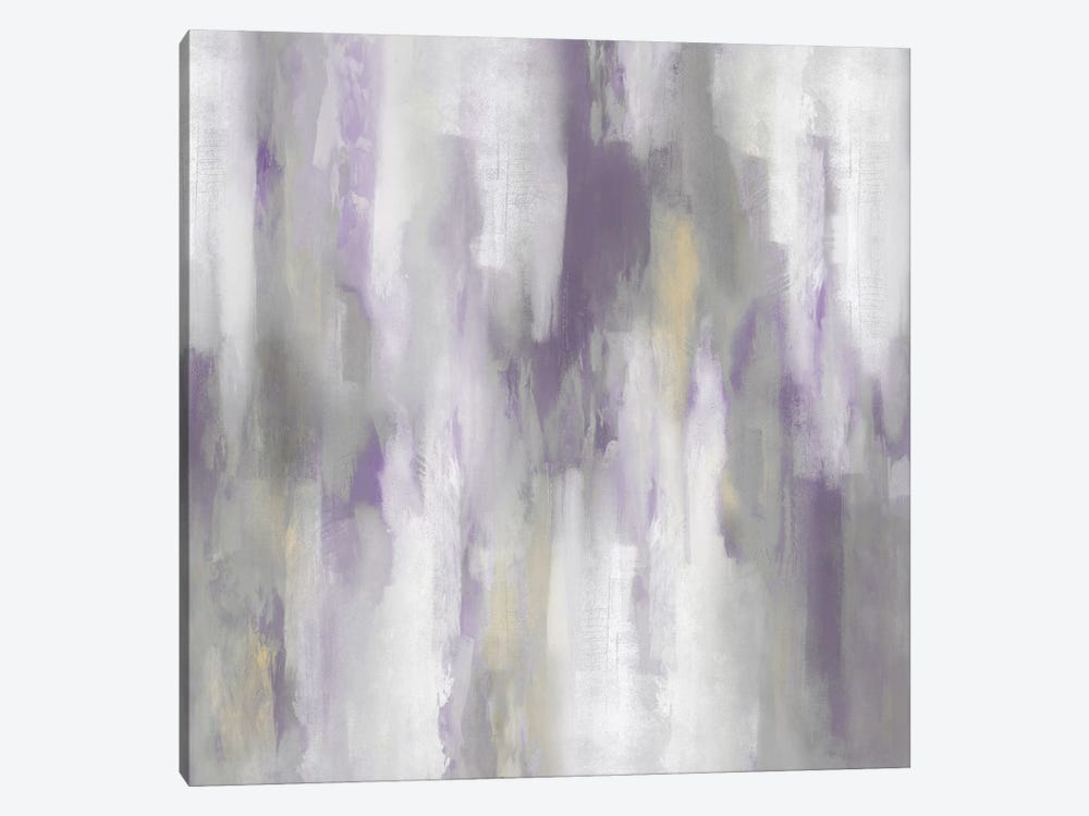 Amethyst Perspective IV by Carey Spencer 1-piece Canvas Wall Art