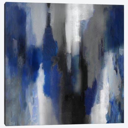 Apex Blue I Canvas Print #CSP5} by Carey Spencer Canvas Art