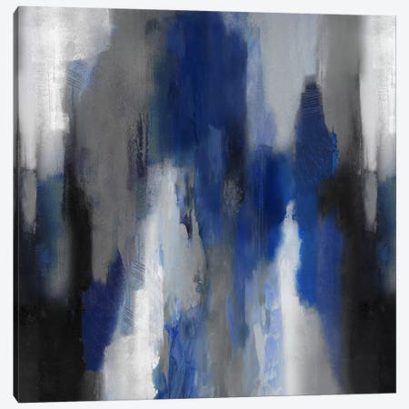 Apex Blue II Canvas Print #CSP6} by Carey Spencer Canvas Artwork