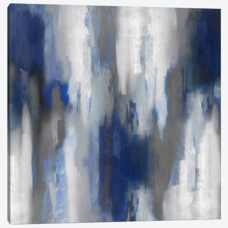 Apex Blue III Canvas Print #CSP7} by Carey Spencer Canvas Art