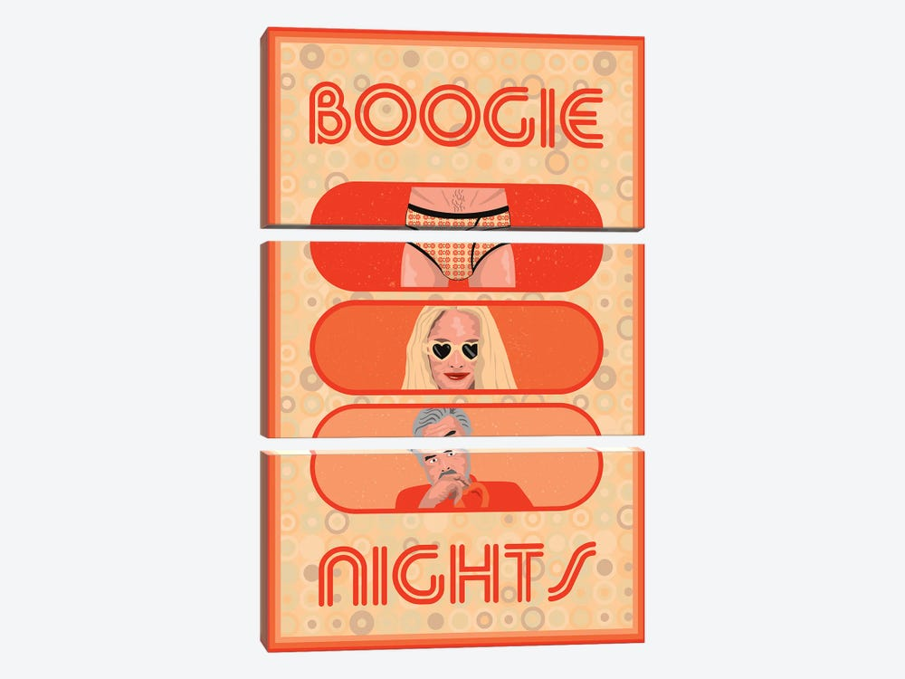 Boogie Nights by Chris Richmond 3-piece Canvas Art