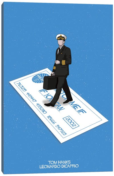 Catch Me If You Can Canvas Art Print